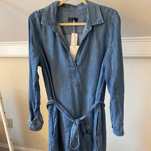NWT Gap Soft Denim Dress